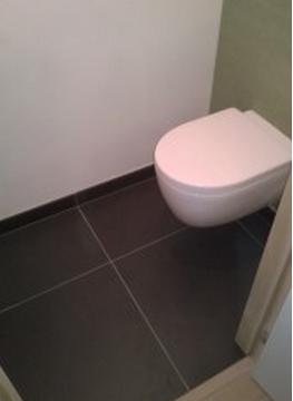Resultaat toiletreiniging